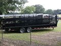 $10550-STOLL 7 x 24 GN.  STOCK TRAILER