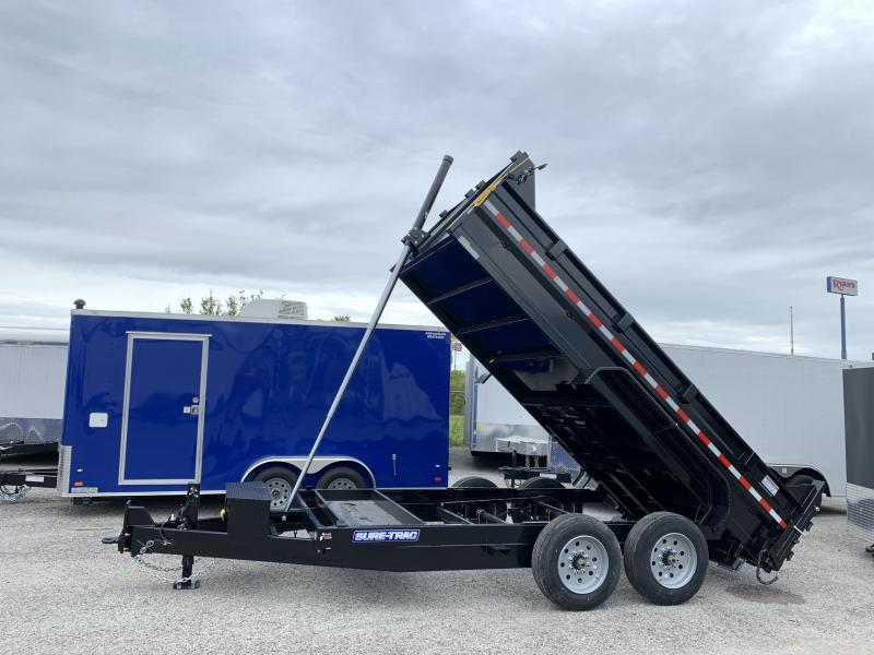 2020 Sure-Trac 82 in x 14 lp 16k telescopic dump