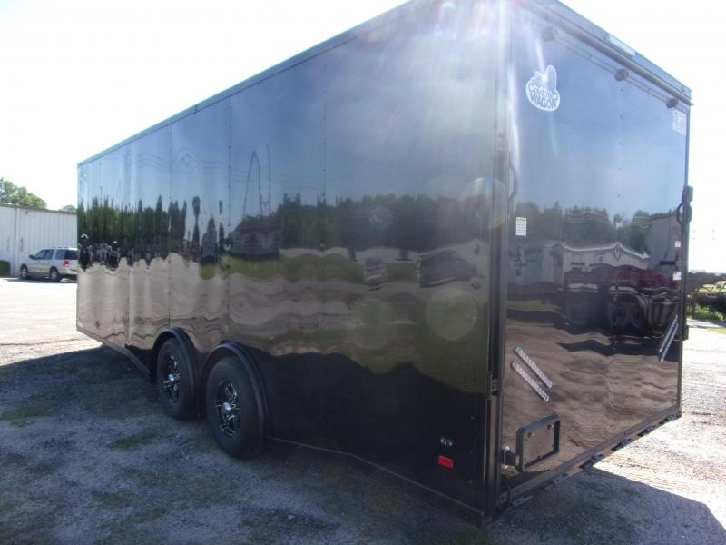 2020 Covered Wagon 8.5x24 bk bk out spread axles ramp door