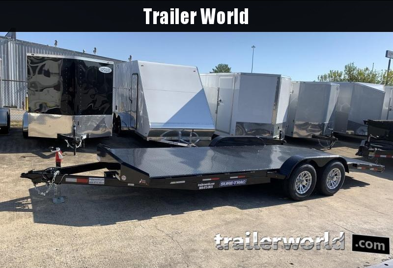 2020 Sure-Trac 18 steel deck car hauler 10k
