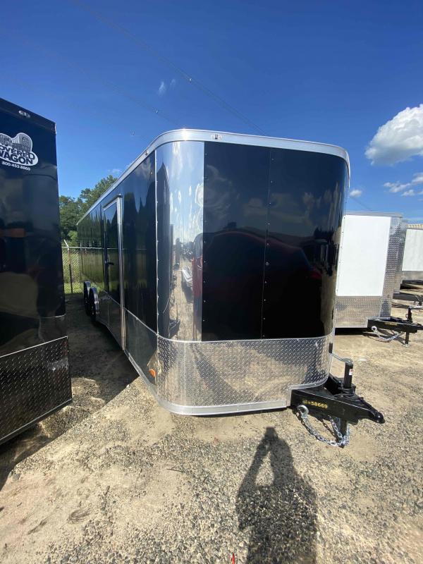 2020 Covered Wagon 8.5x24 mcp bk spread axles ramp door