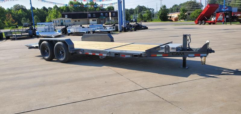 2021 Cam Superline 7 ton split deck tilt trailer 8.5x16+4 x15+4