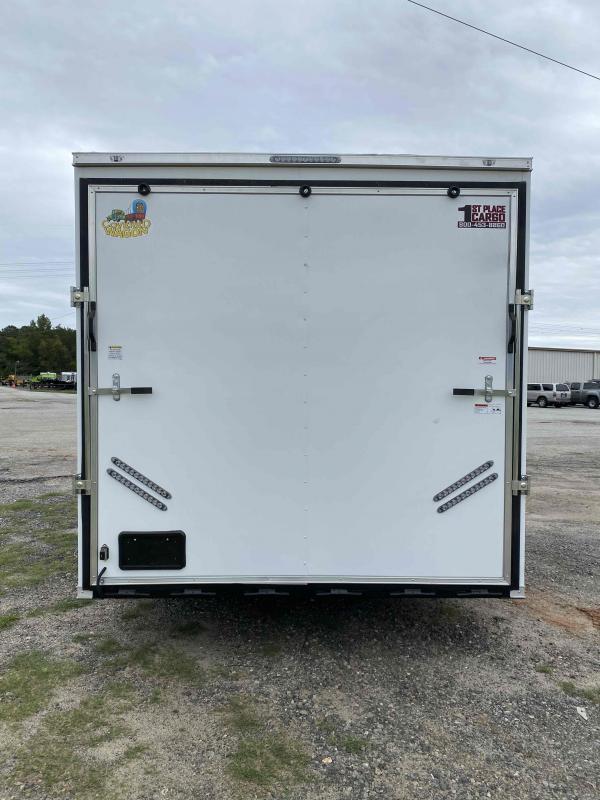 2021 Covered Wagon 8.5x24 wh spread axles ramp door