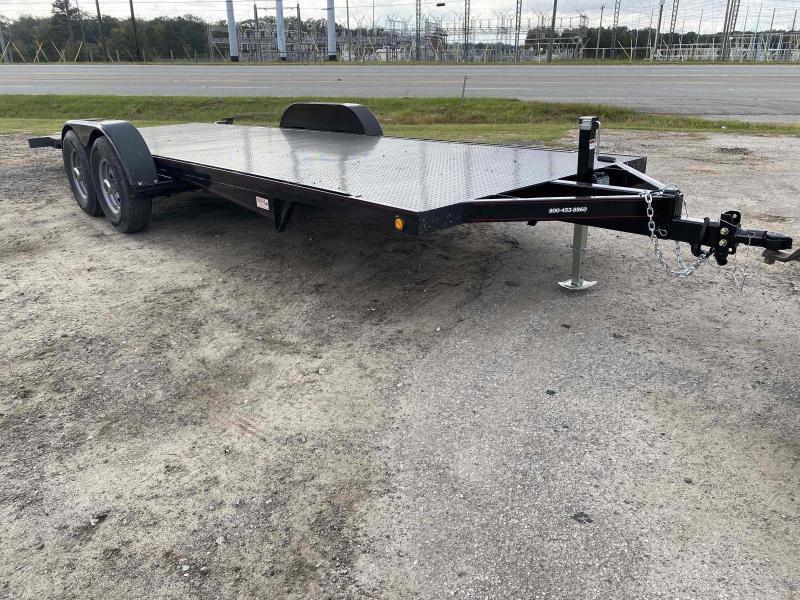 2021 Kwik Load 20' silver roll back tilt