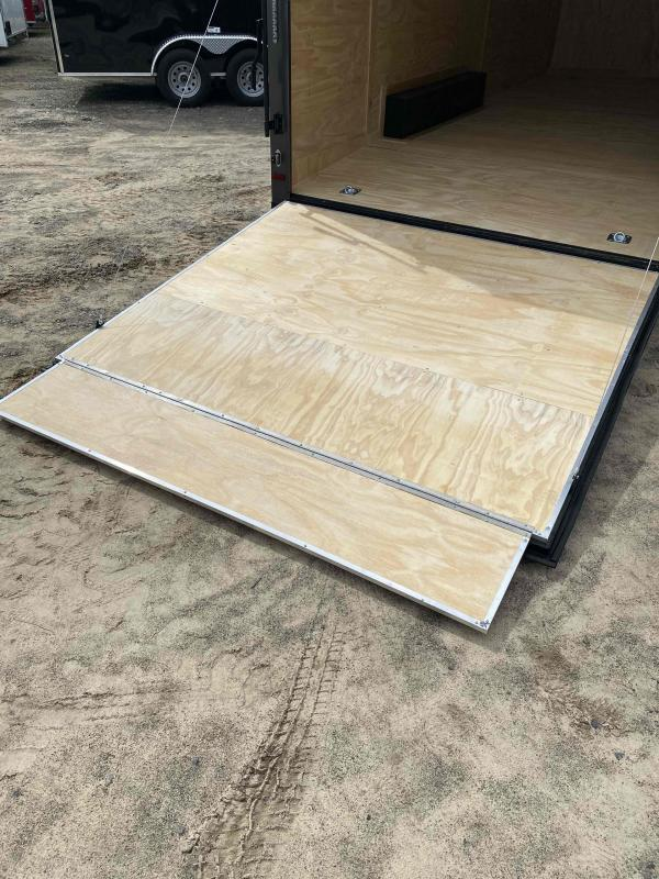 2021 Covered Wagon 8.5x20 ch bkout ramp door