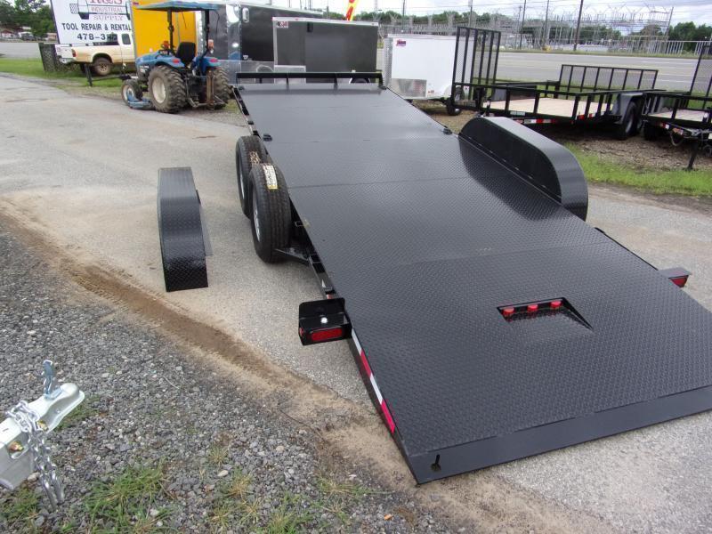 2021 Hawke equipment 82x20 10k hydraulic tilt deck