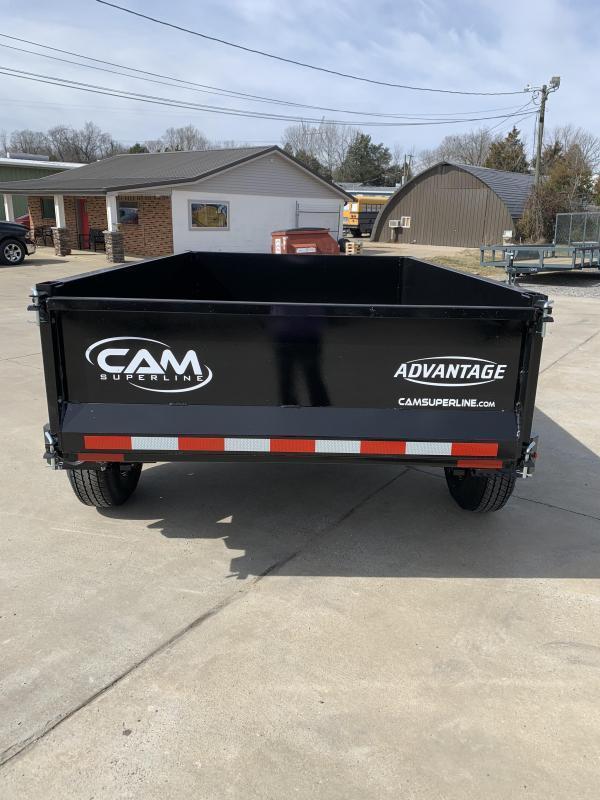 2021 Cam Superline p5508lpdt (advantage low profile dump trailer 5x8)