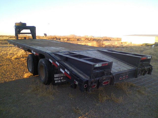 Buy Sell New Used Trailers 2004 Gooseneck Brand Flatbed At