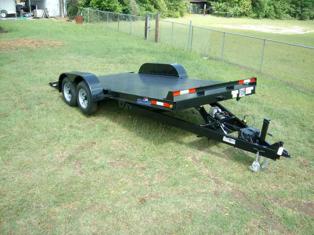 Buy Sell New Used Trailers 18 Ft 7k Steel Deck Electric Tilt