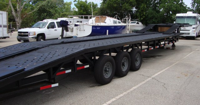 Buy Sell New Used Trailers Take 3 Step Deck 3 4 Car Trailer At