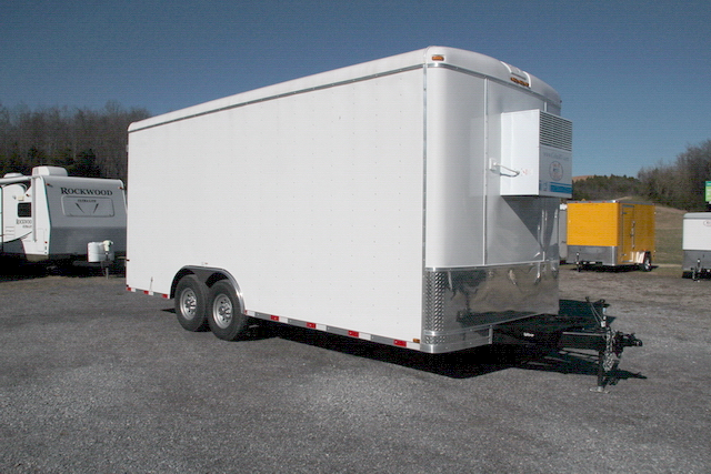 Buy & Sell New & Used Trailers 8.5X20 COMMERCIAL FREEZER TRAILER at  TrailerShopper.com