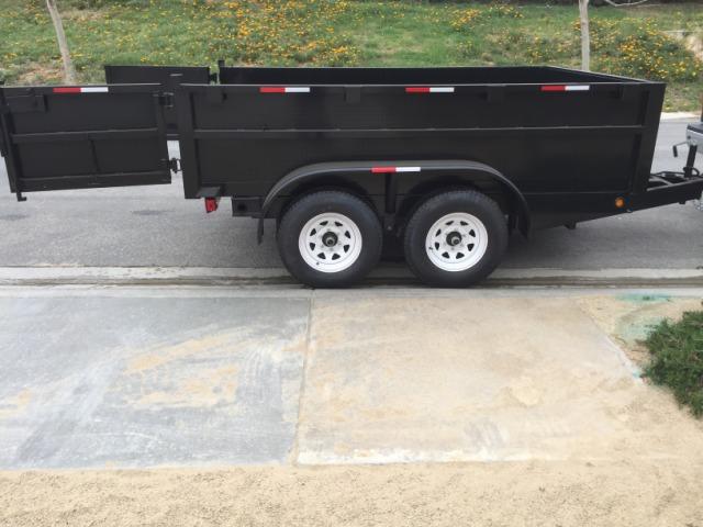 2016 Apache electric dump trailer