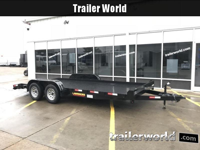 2019 Lawrimore 18 steel deck car hauler deluxe