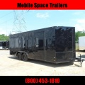 Covered Wagon Trailers 8.5x20 Bk Black out ramp door Enclosed Cargo Stock# ECCW8524-sold4