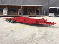Candy Apple Red  10,000 lb axles