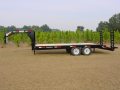 Anderson 25' GN Equipment Trailer 10,000# Axles