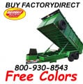 Commercial Grade 14 Foot Dump Trailer