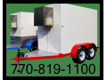 $Call-Polyurethane Insulated 4x8 Refrigerated Trailer