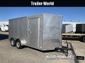 2019 CW 7' x 14' Vnose Enclosed Trailer Ramp Door