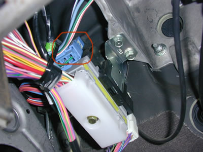 Dodge Brake Control Wiring Harness Location
