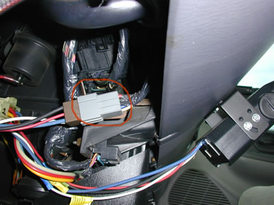 Ford Brake Control Wiring Harness Location